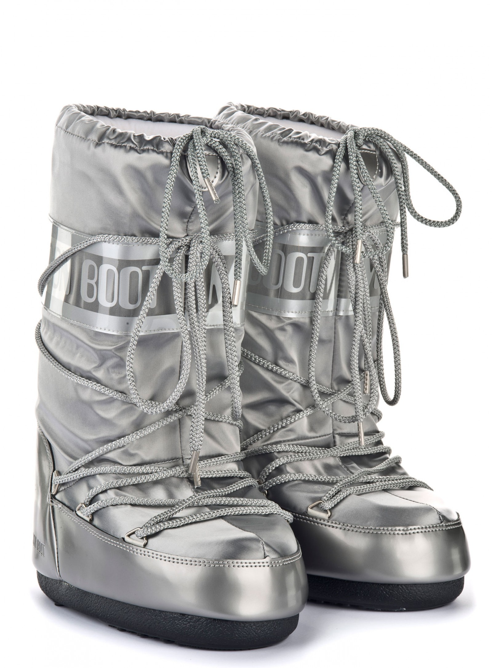Мунбуты Moon Boot Glance silver