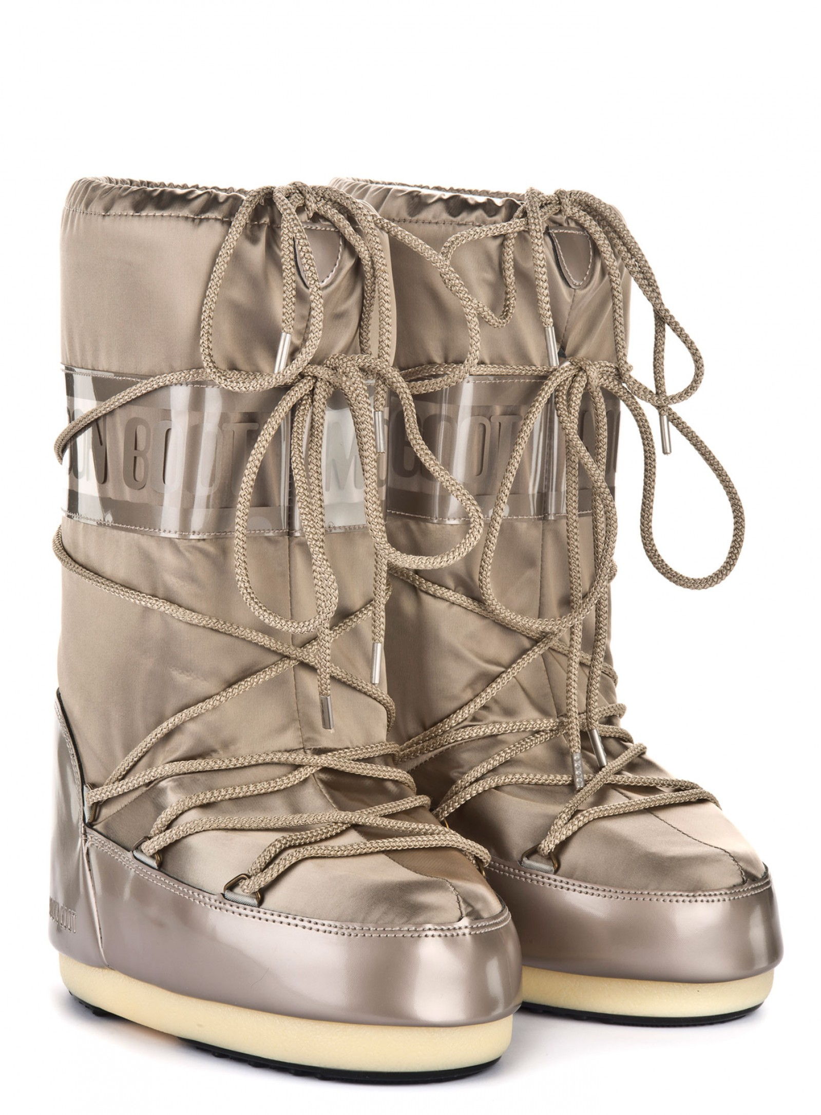 Мунбуты Tecnica Moon Boot Glance platinum